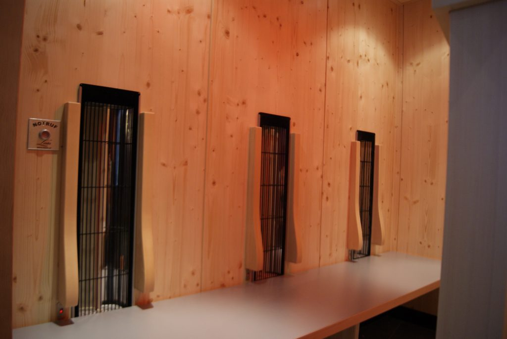 Londa Wellnessanlagen Infrarot Kabine Kur Zentrum Waren